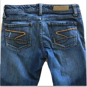 Seven 7 straight leg stretch denim jeans